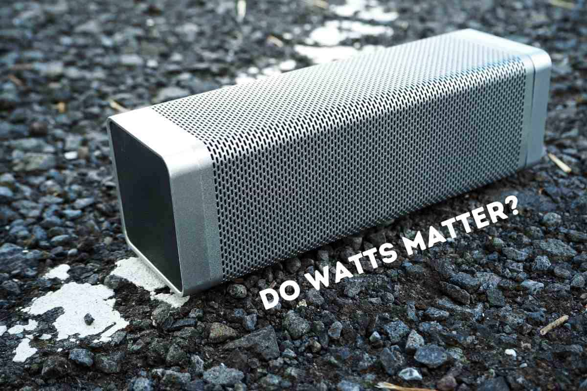 How Many Watts Is A Good Speaker?