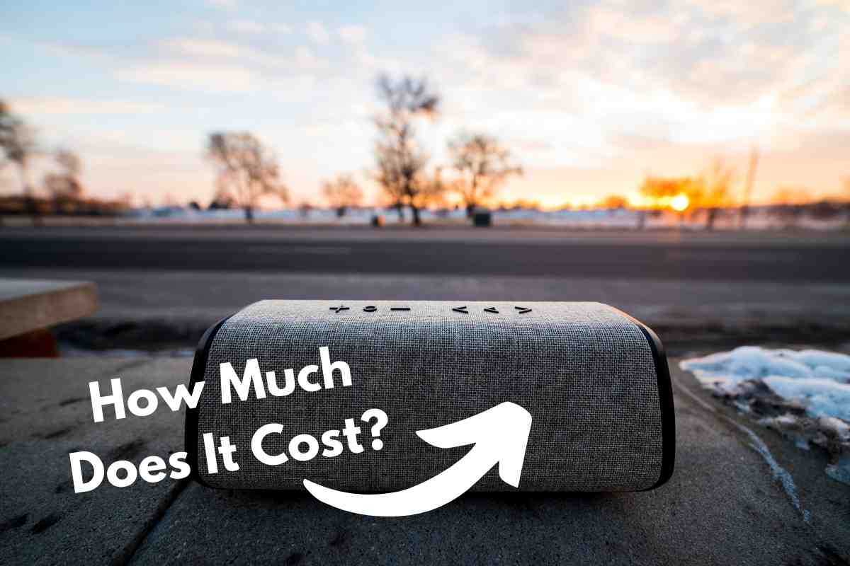 How Much Does A Bluetooth Speaker Cost?
