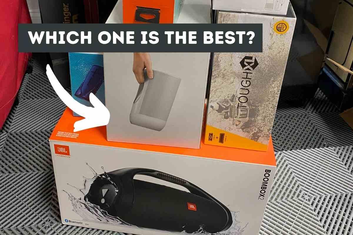 The Best Jobsite Bluetooth Speaker